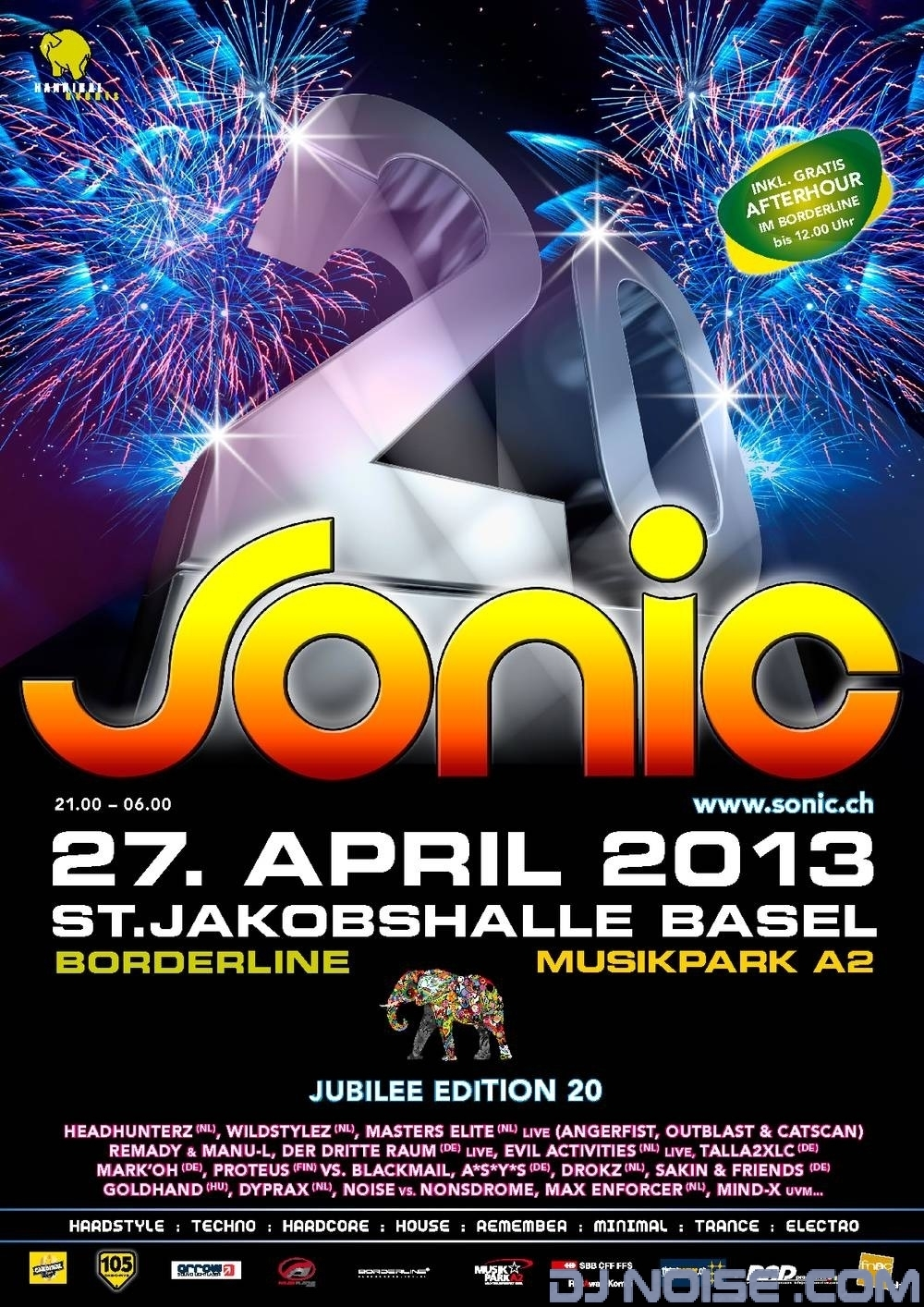 2013.04.27 Sonic20 Plakat
