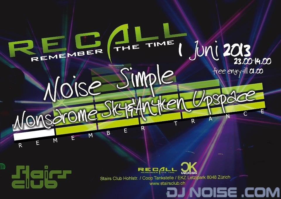 2013.06.01 Recall A