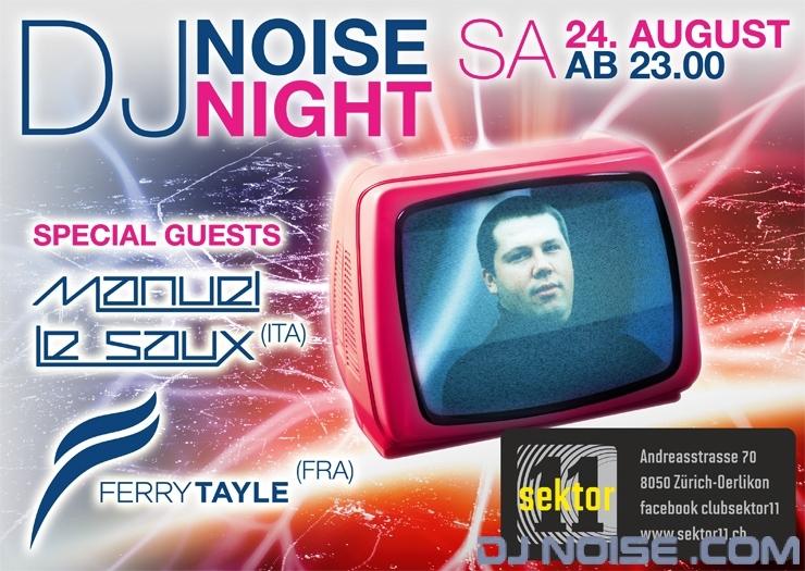 2013.08.24 Webflyer Noise Night