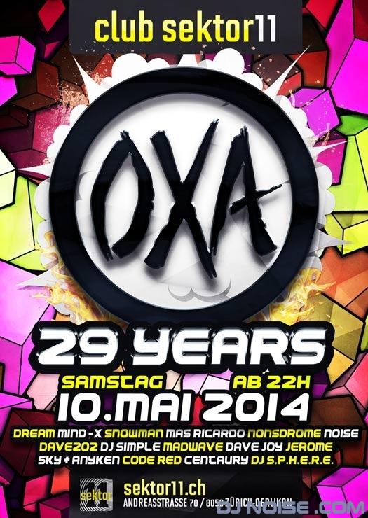 2014.05.10 29 Years OXA